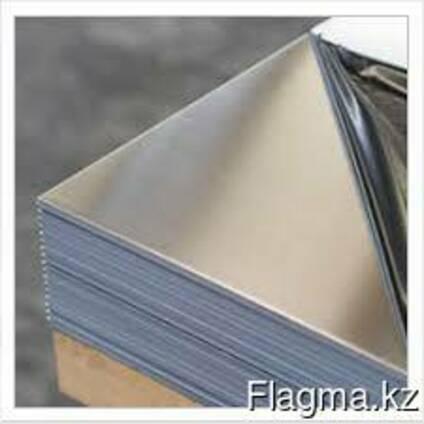 Лист нержавеющий 2х1000х2000 мм AISI 430 зеркальный