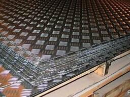Лист рифлёный алюминиевый АМГ2МР