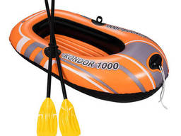 Лодка надувная Kondor 1000 Set 155 х 97 см, Bestway, 61078