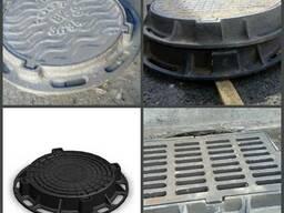 Люки канализационные ГОСТ 3634-99 дождеприемники