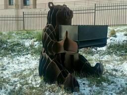 Мангал медведь