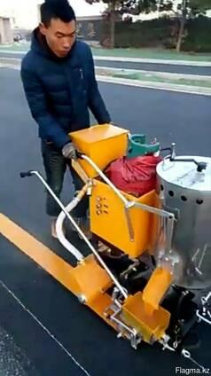 Машина для нанесения Термопласт дорожной разметки