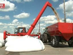 Машина для выгрузки зерна из мешков-рукавов GE 150