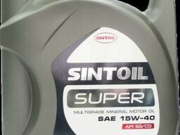 Масло моторное Sintoil Супер SAE 15W-40 API SG/CD (5л)