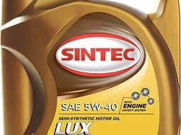Масло полусинтетическое Sintoil Люкс SAE 5w40 API SJ/CF (5л)
