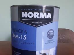 Масляная краска МА-15, ( банка 3 литра ) зелёная