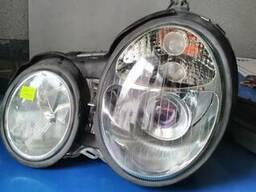 MB W210 99- 03 фары, линза ближн. свет, хром комплек