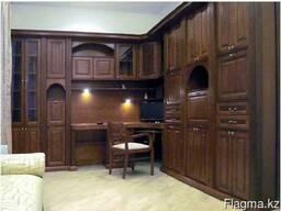 Мебель из массива лиственных и хвойных пород древесины!