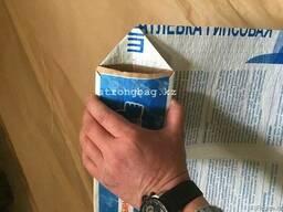Мешки бумажные армированные с клапаном от производителя