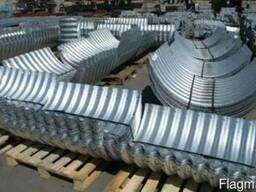 Металлические гофрированные конструкции - фото 4