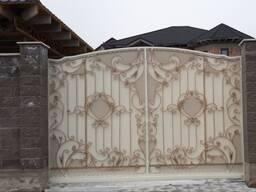 Металлические ворота в Алматы!