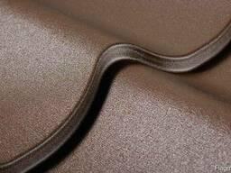 Металлочерепица супермонтеррей матовое покрытие