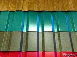 Металлочерепица матовая полимерное глянцевое покрытие