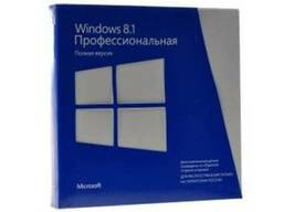 Microsoft Windows 8.1 Professional, 32-bit/64-bit Box