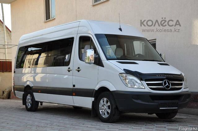 Микроавтобусы аренда заказ в Шымкенте 7-12-22 местные и выше