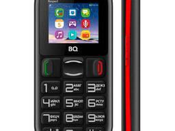 Мобильный телефон BQ 1800 Respect Black+Red