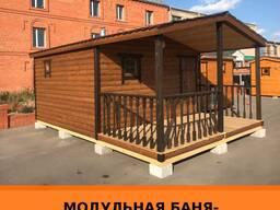 Модульная баня 6*4 метра