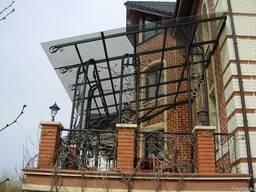 Монолитный поликарбонат 2 мм в Алматы