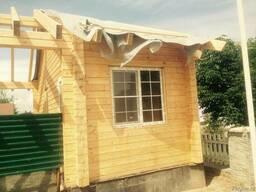Монтаж деревянных домов, бань, беседок, окон.