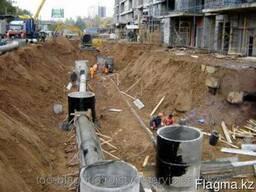 Монтаж канализации в Караганде.Канализация в дом.