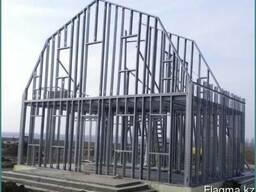 Монтаж легких стальных конструкций ЛСТК
