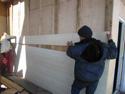 Монтаж сайдинга, обшивка стен
