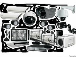 Монтаж видеонаблюдения. обслуживание