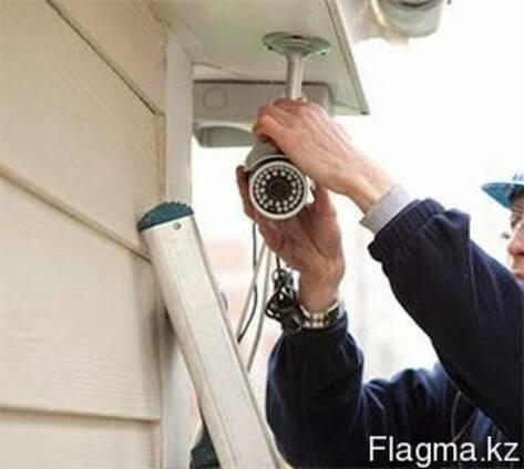 Монтаж Видеонаблюдения и Пожарно-Охранной сигнализации