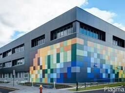 Монтажом современных вентилируемых фасадов, облицовкой стен