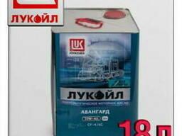 Моторное масло лукойл авангард экстра 10w40 18л