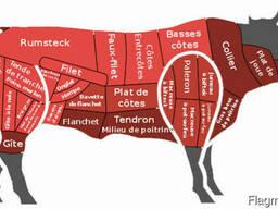Мясо на стейк гавядины бычки карова баранина эко продукт