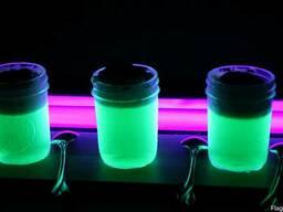Набор люминесцентных порошков (люминофор ТАТ 33) яркое свеч