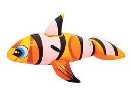Надувная игрушка для катания верхом Рыба-клоун 157 х 94...