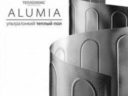 Нагревательный мат на фольге Alumia под ламинат и линолеум