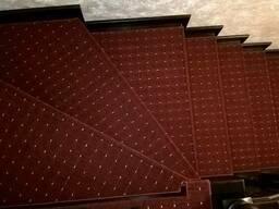 Антискользящие Ковровые накладки на ступени. Ковролин