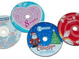 Наклейки на диски