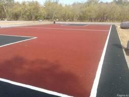Тартановое покрытие для спортивных, детских площадок - фото 2
