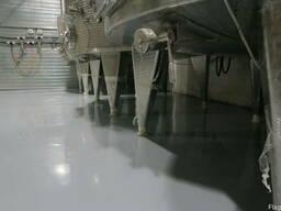 Наливные полимерные полы для химических лабораторий.