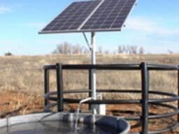 Насос погружной на солнечных батареях.