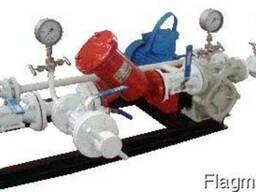 Насосный блок для перекачивания сжиженных газов (СУГ)