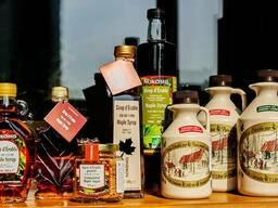 Настоящий канадский кленовый сироп и сахар оптом