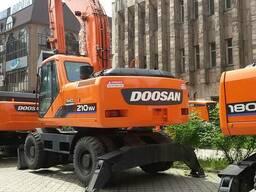 Новый Doosan S210WV колесный экскаватор