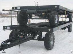 Новые шасси тракторных прицепов 12 метров.