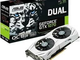 Nvidia GeForce GTX 1070 Видеокарта 100 000 тг