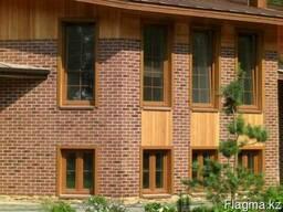 Облицовка фасада гибким мрамором