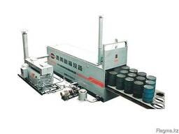 Оборудование для плавления битума в бочках.