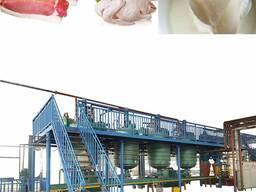 Оборудование для вытопки животных жиров, сала в пищевой жир