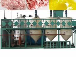 Оборудование переработки животных жиров, сала в кормовой жир