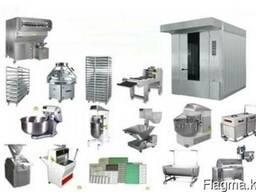 Оборудования для пекарни и кондитерских цехов
