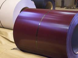 Оцинкованная сталь с полимерным покрытием